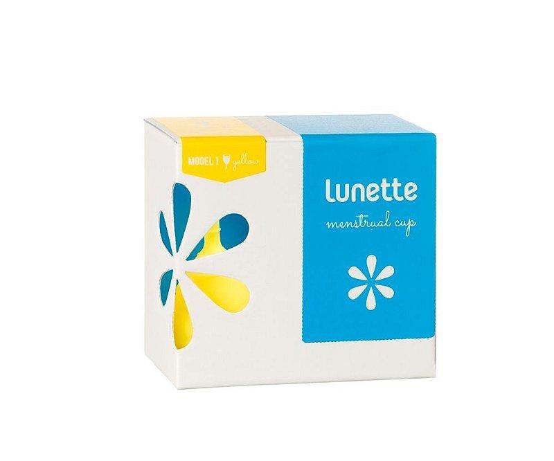 Coletor Menstrual Lunette Lucia (amarelo)