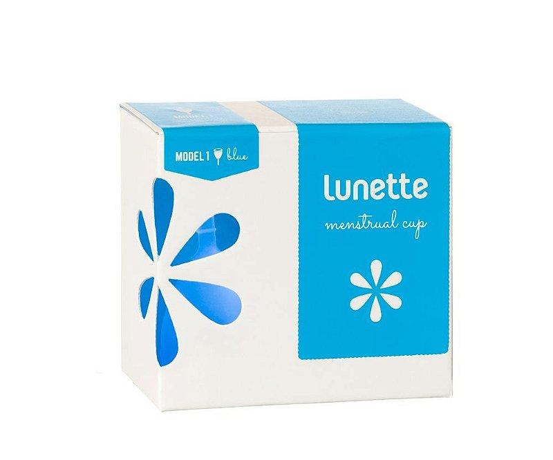 Coletor Menstrual Lunette Selene (azul)