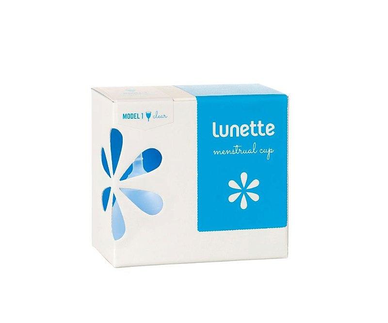 Coletor Menstrual Lunette Transparente