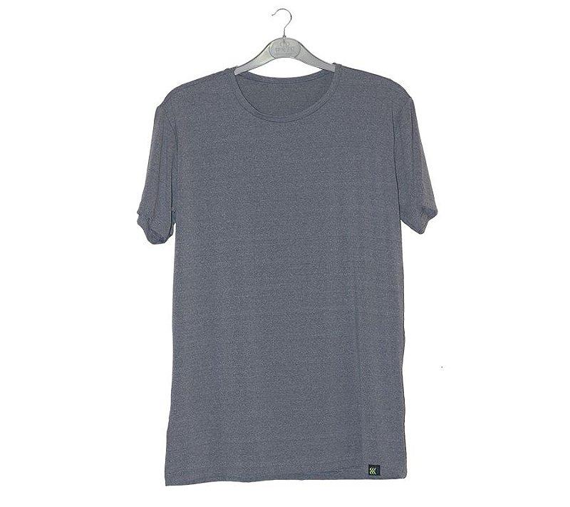 Camiseta Poliamida Mescla Cinza