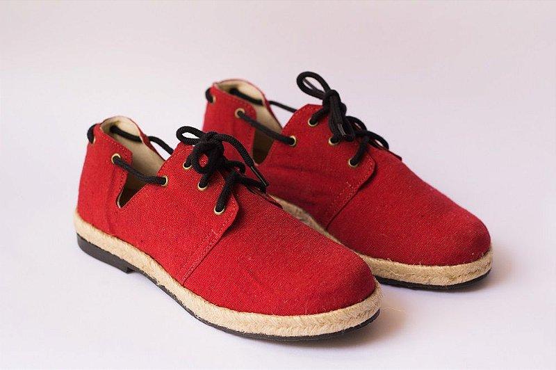 Sapato Pantala Espanha Vermelho