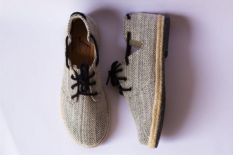Sapato Pantala Espanha Preto e Branco