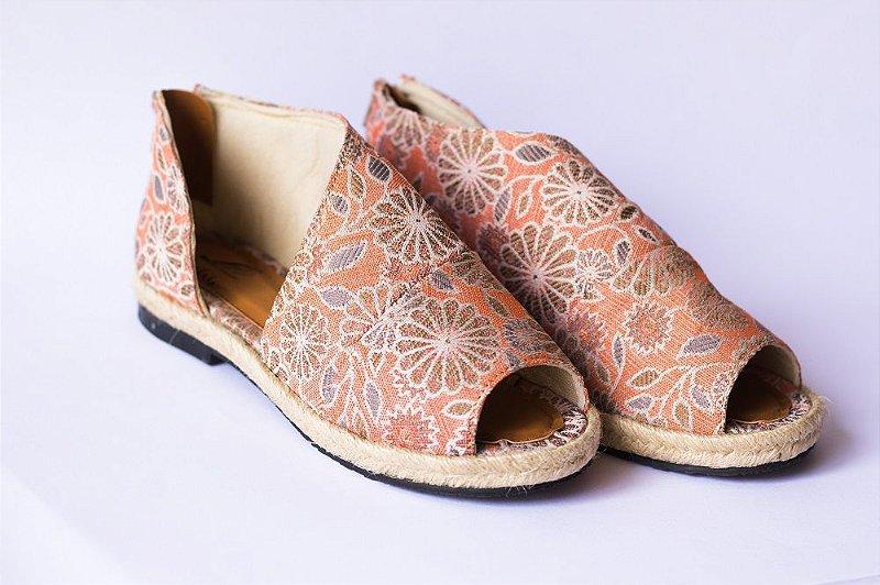 Sandália Pantala Veneza Floral