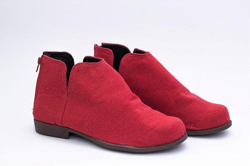Bota Pantala Madri Vermelha