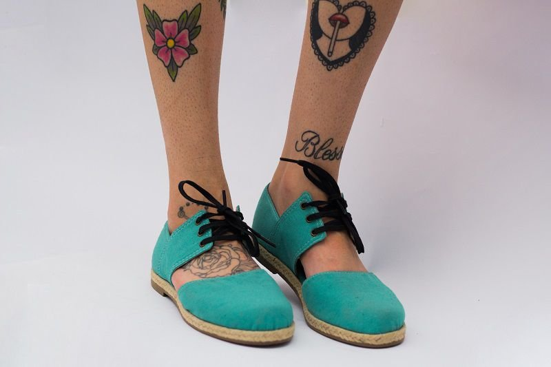 Sapato Pantala Sana Azul