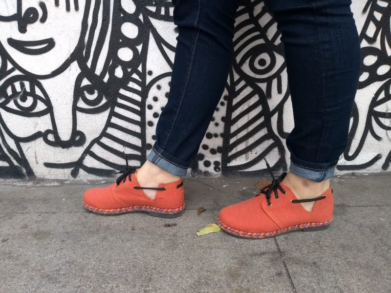 Sapato Pantala Espanha Tangerina