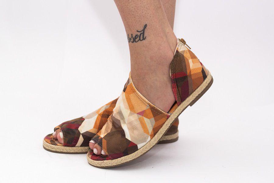 Sandália Pantala Veneza Geometrical