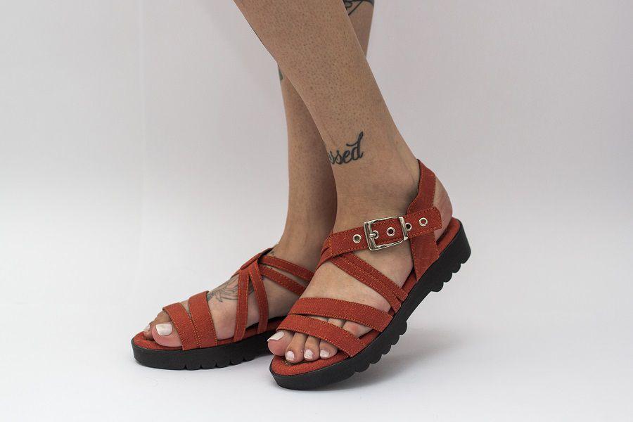Sandália Pantala Jurerê Tangerina