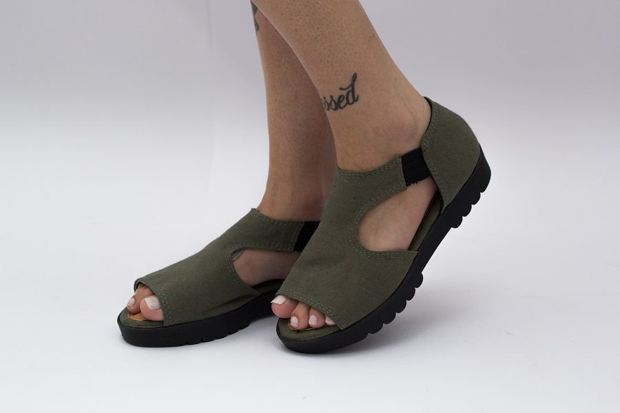Sandália Pantala Mikonos Verde