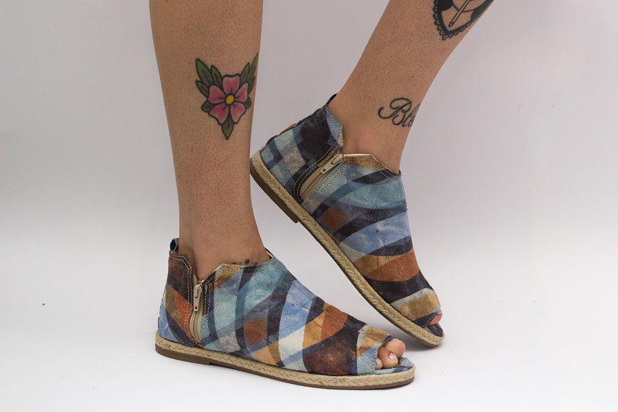 Sandália Pantala Roma Azul