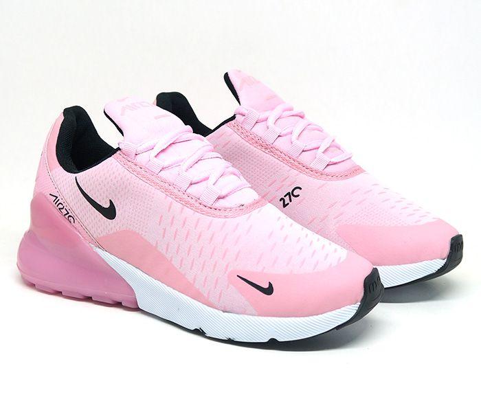 80c63f60cb7 Tênis Feminino Nike Air Max 270 Rosa - Dflexe.com.br
