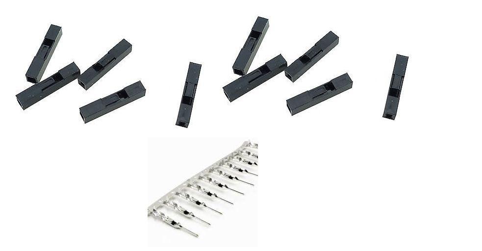 Conector Crimp/Conector Macho para Wire Jumper Dupont - Autocore ...
