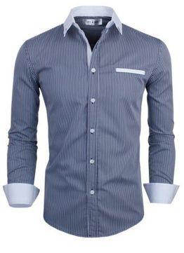 Camisa Social Slim Premium Estilo Asiático Top - Lojas Norton ed7531030ba0c
