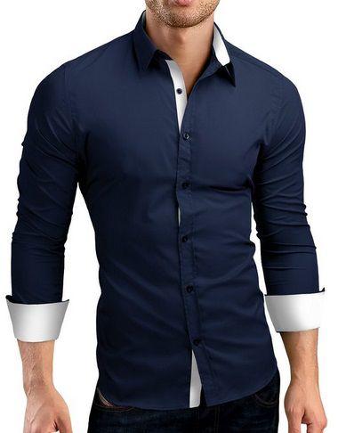 26975e85f6 Camisa Social Estilo Europeu Luxo - Lojas Norton