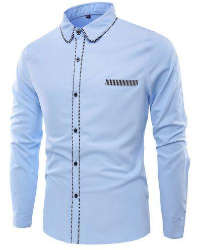 Camisa Social Premium Slim Fit Estilo Frances - Lojas Norton 25cfbce9bca9b