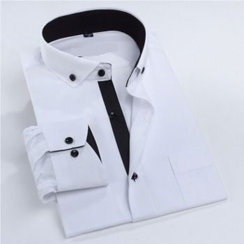 Camisa Social Manga Longa Premium Slim Estilo Finlandês - Lojas Norton 76a24e568e373