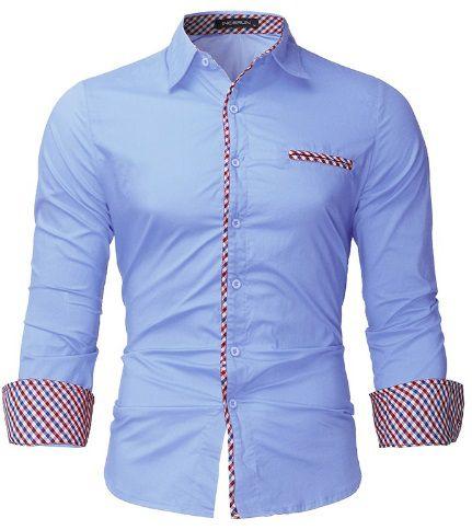 Camisa Social Lançamento Slim Estilo Canada. Camisa Social Lançamento Slim  Estilo Canada - Imagem 1  Camisa ... 9c7fd4c155931