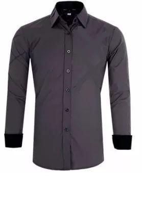 Camisa Social Masculina Slim Fit Estilo Viena - Lojas Norton 2fc94823be045