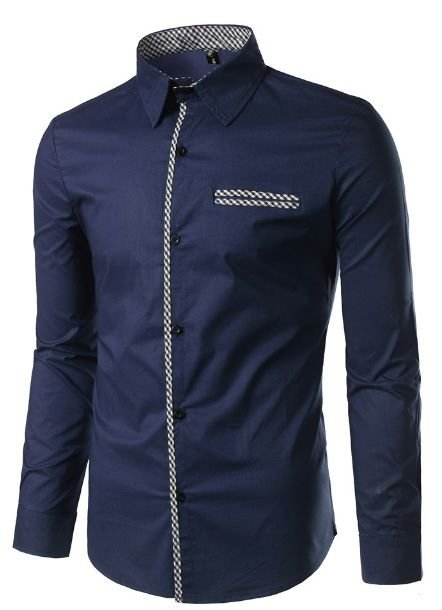 Camisa Social Masculina Slim lançamento Estilo Grecia - Lojas Norton bbd7fbf708633
