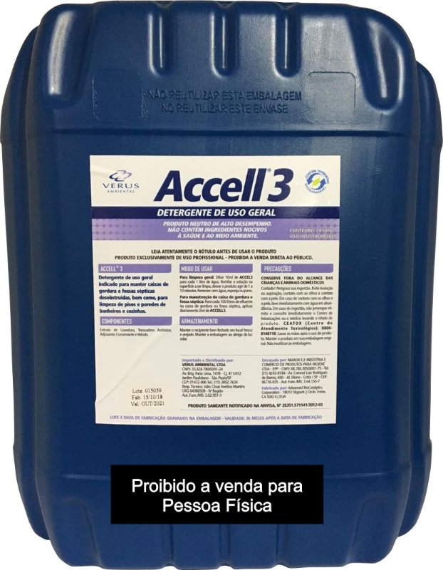 Accell® 3 - 20 Litros