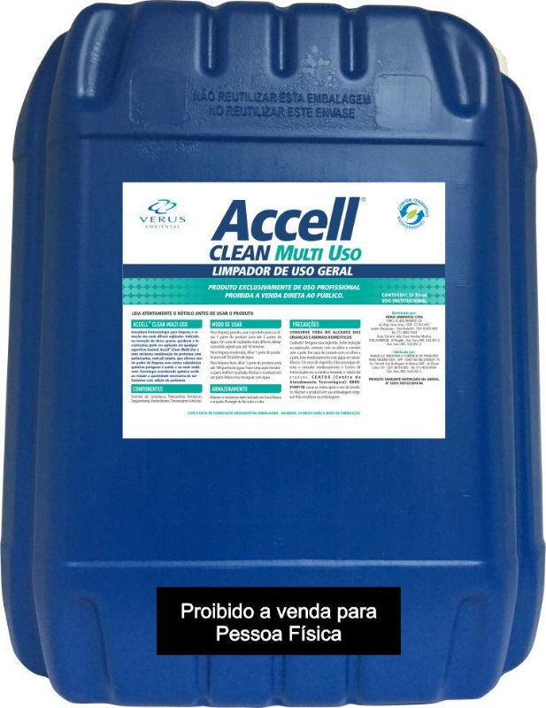 Accell® Clean Multiuso -  20 Litros