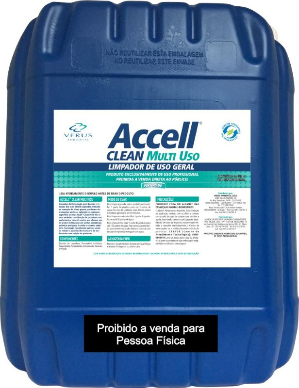 Accell® Clean Multiuso 20 Litros com fragrância
