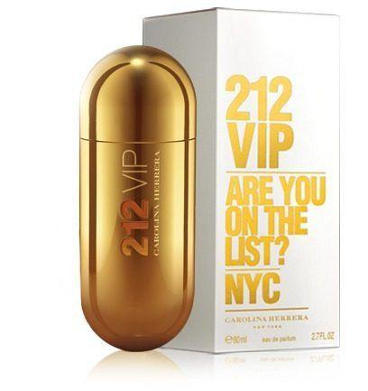 63c0e7c0b Perfume Carolina Herrera 212 Vip Feminino 80ML - Loja Virtual Acessórios