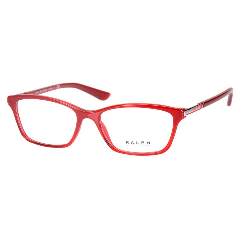e656cecef Oculos de Grau Médio Feminino Ralph Lauren RA7044 Vermelho Translúcido -  Óculos de Grau - Armação de Óculos - Masculino - Feminino - Univisão