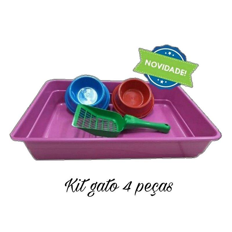 Kit higiene gato