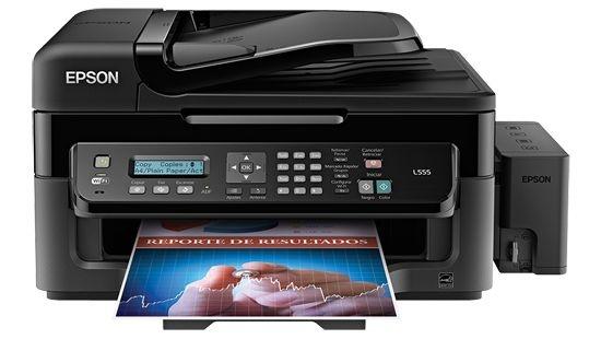 Impressora  Multifuncional Epson Tanque L555