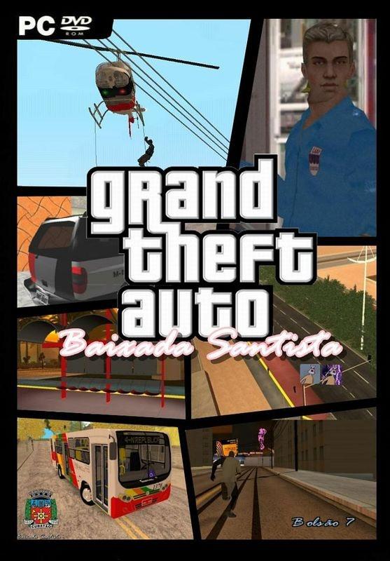 GTA Baixada Santista DVD Game