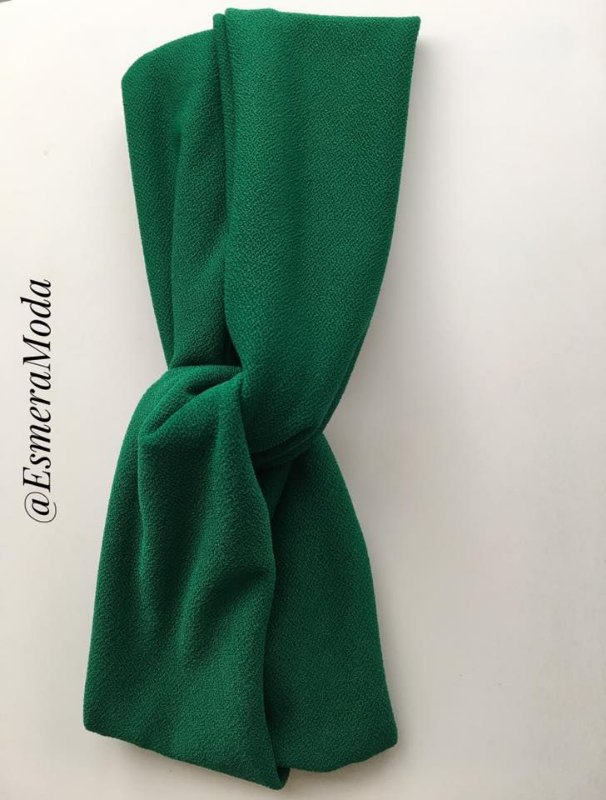 Turbante Luxo Chanel Verde