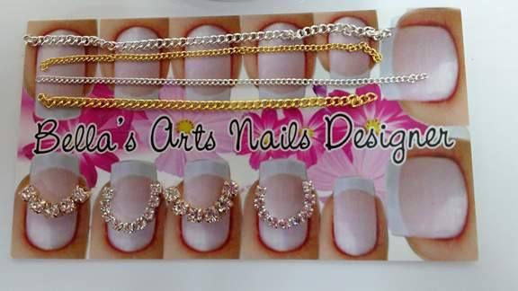 Carrossel De Correntes Para Decoração De Unhas Bellas Arts Nails