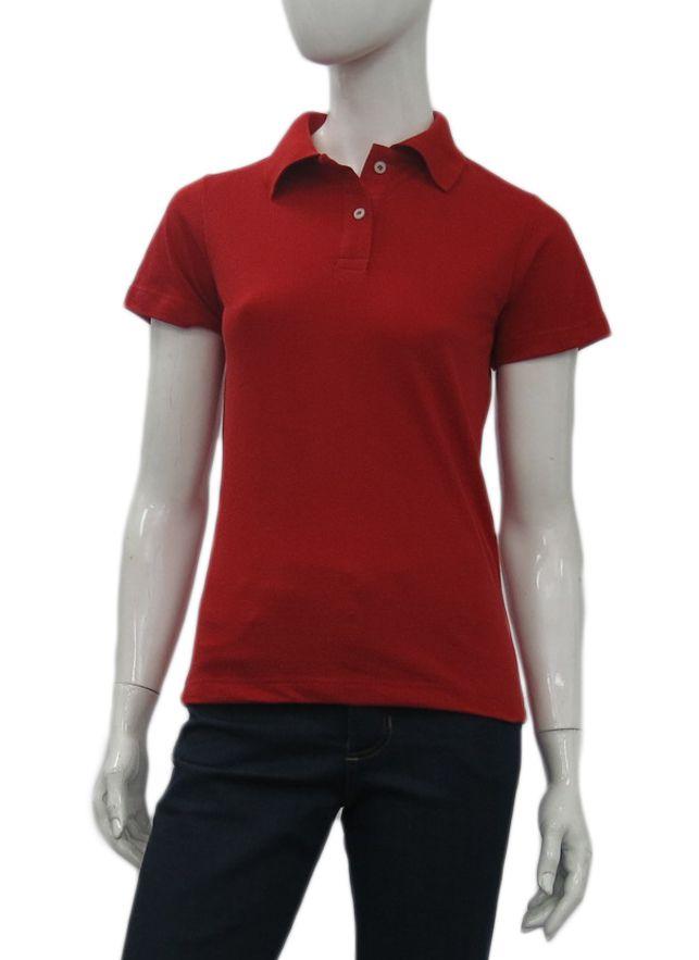 Camisa polo mundo promocional feminina com barra (OFERTA DO DIA ... f403b0f8c57