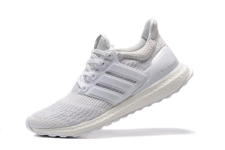 d5a0ef2f6eb01 Tênis Adidas Ultra Boost - Feminino - Branco - Shoes Hub - Seu ...