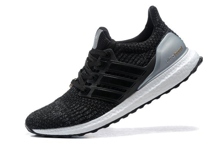 Tênis Adidas Ultra Boost - Feminino - Preto Prata - Shoes Hub - Seu ... 4209c4c063c81