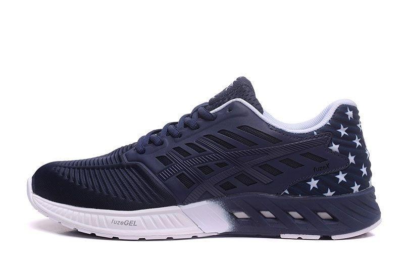 Tênis Asics FuzeX - Masculino - Azul Escuro - Shoes Hub - Seu ... 0415cbbefe816