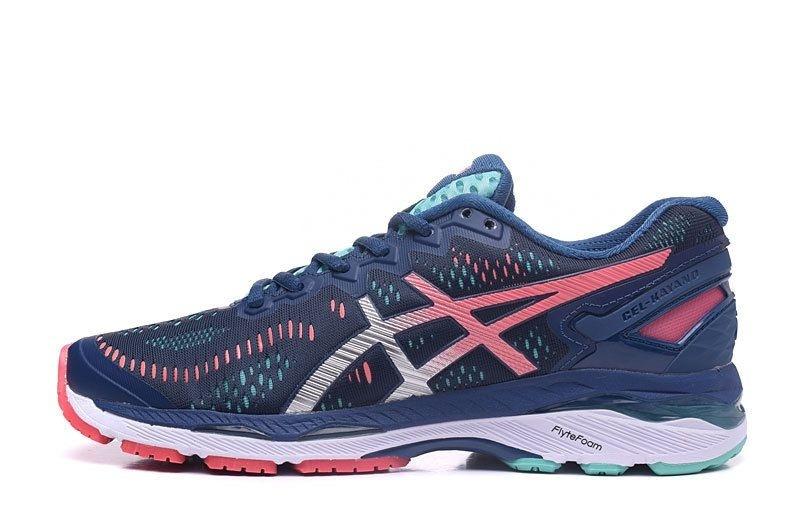 7ec823c785 Tênis Asics Gel Kayano 23 - Feminino - Azul e Verde - Shoes Hub ...