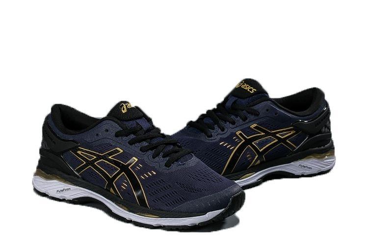 Tênis Asics Gel Kayano 24- Masculino - Azul Marinho - Shoes Hub ... 55afa0efa4fa4