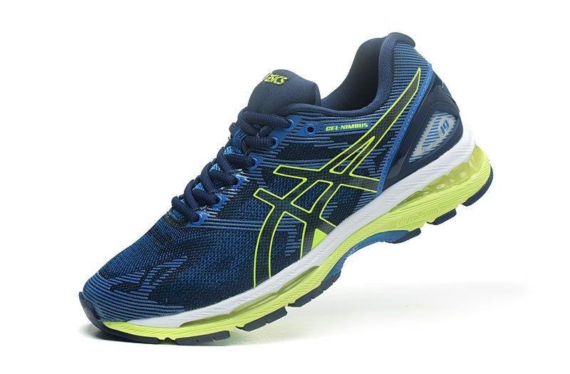 Tênis Asics Gel Nimbus 19 - Masculino - Azul - Shoes Hub - Seu . bb95ed4e90ef8