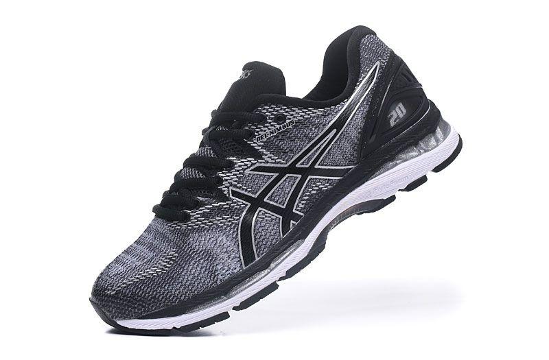 Tênis Asics Gel Nimbus 20 - Masculino - Cinza e Preto - Shoes Hub ... 431da28bf3b35
