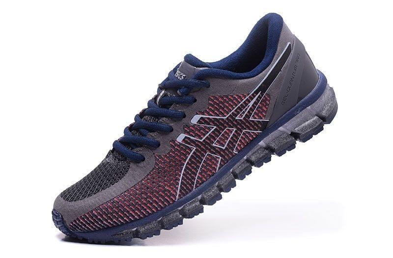 Tênis Asics Gel Quantum 360 CM - Masculino - Marrom e Vinho - Shoes ... 189931b37c620