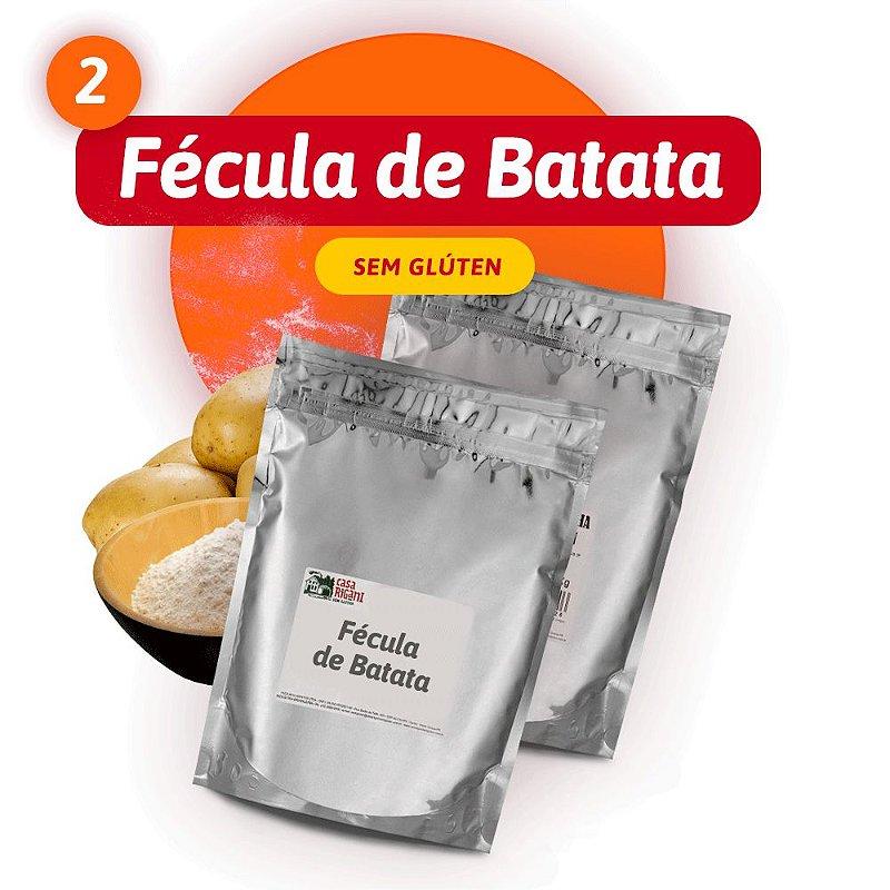 Fécula de Batata - 2 PACOTES