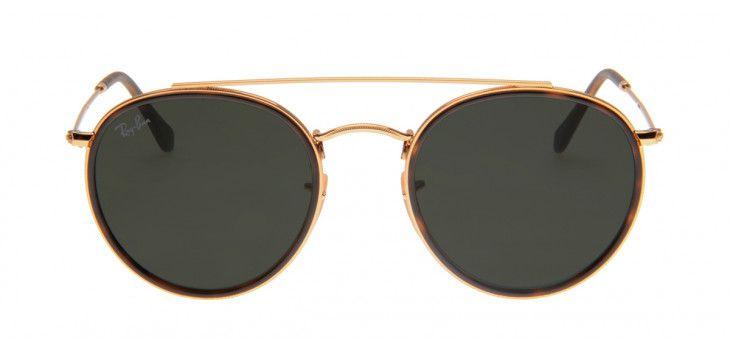 580641282eba0 Óculos Ray-Ban RB3647-N 51 - Dourado - 001 - OUTLET23