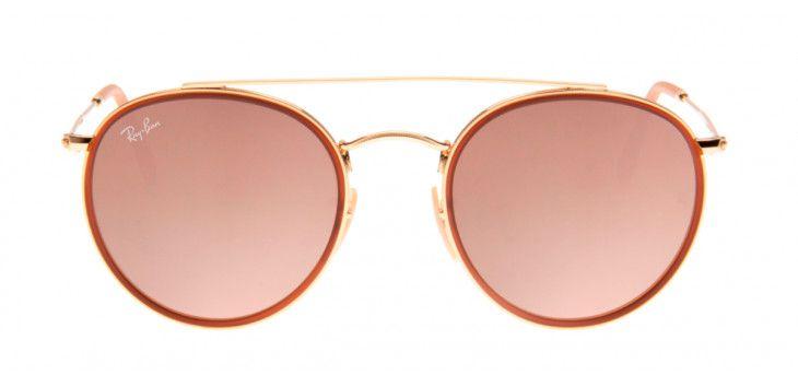 3d482b7012e6d Óculos Ray-Ban RB3647-N 51 - Dourado e Rosa - 001 7O - OUTLET23