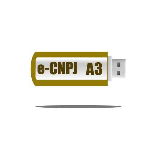 Certificado Digital e-CNPJ A3 - TOKEN