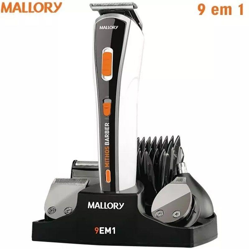 a5ec61023 Kit Barbeador Aparador De Pelos Mallory Multi Groom 9 Em 1. Kit Barbeador  Aparador De Pelos Mallory ...