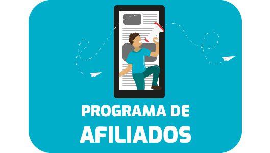 Programa de Afiliados e Influenciadores
