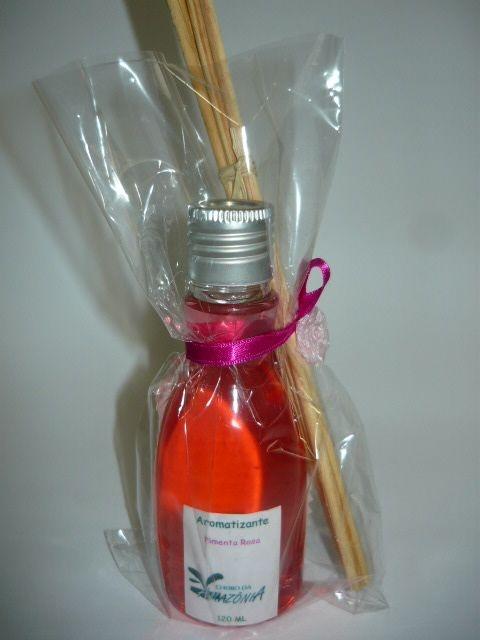 Varetas Aromatizantes 120 ml - aroma Pimenta Rosa
