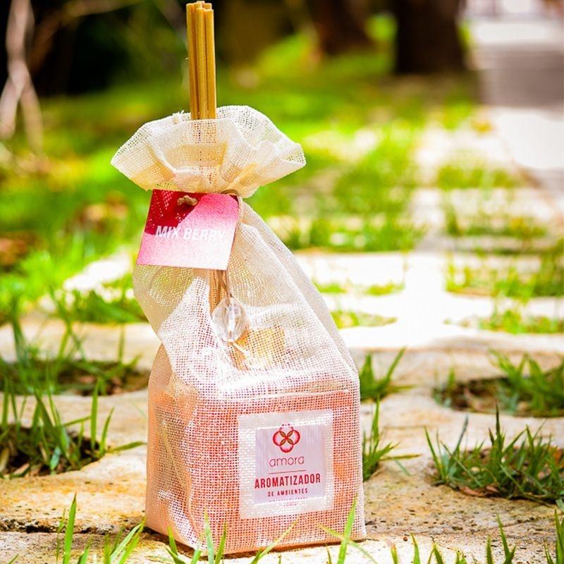 Aromatizador de Ambientes Mix Berry 350 ml - Difusor Varetas